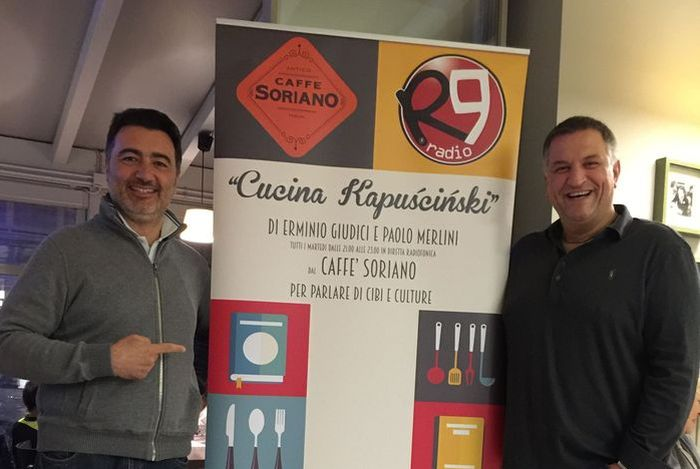 Erminio e Paolo a Cucina Kapuscinski su Radio R9