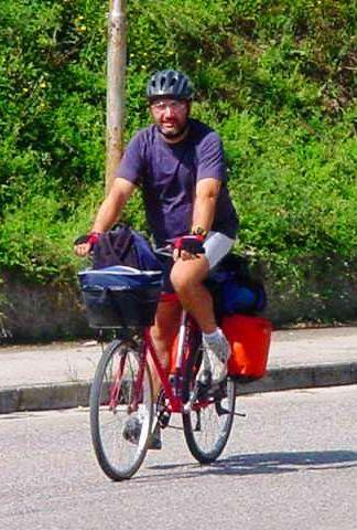 Paolo Merlini viaggio in bicicletta