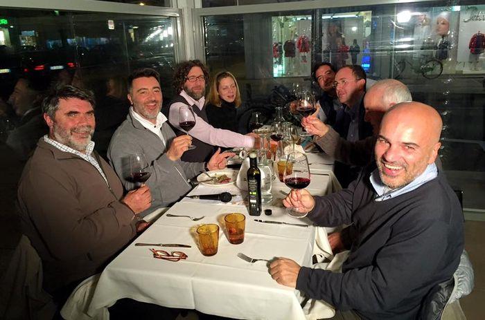 radio cena a Cucina Kapuscinski su Radio R9 dal Caffè Soriano
