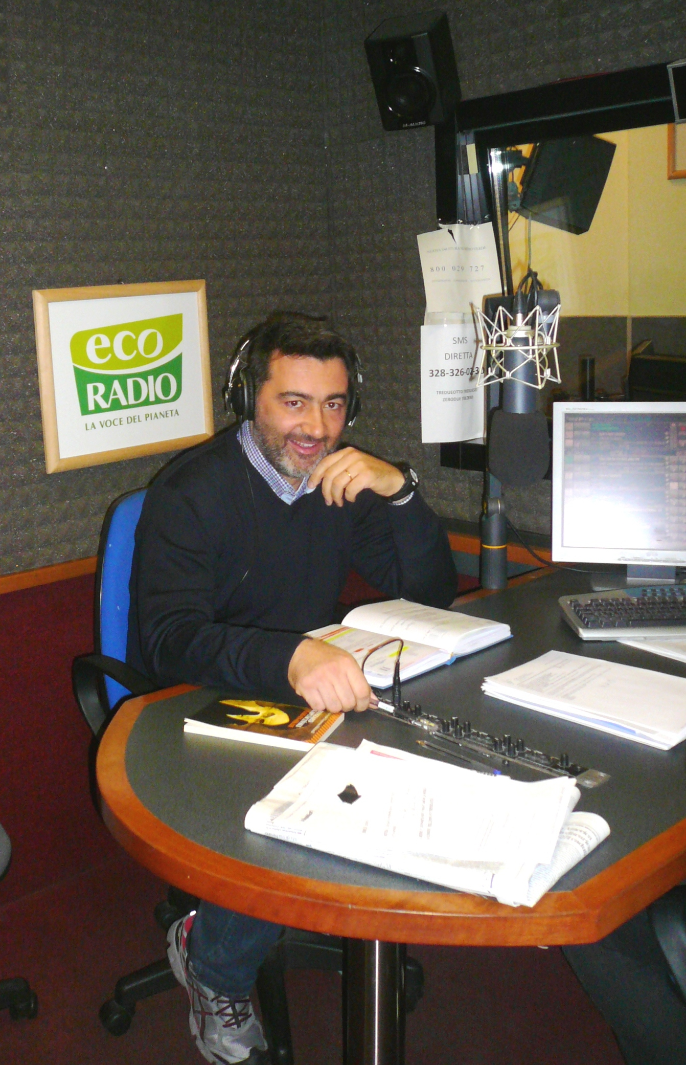 paolo merlini a Ecoradio