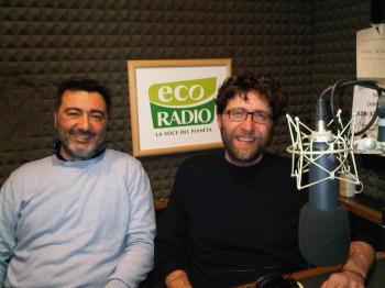 Ad Ecoradio con Maurizio Silvestri